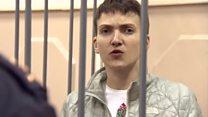What did Ukraine's hero pilot do next?