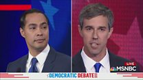 Candidates clash over border policy
