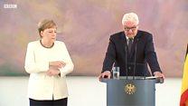 Меркель знову трусило