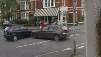 Near-miss crash footage leads to safety call