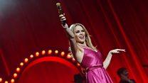 Kylie Minogue on finally getting to Glastonbury