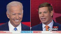 'Pass the torch' Joe Biden is told
