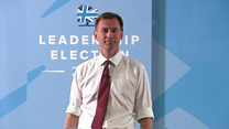 Hunt wants UK to be 'economic jumbo jet'