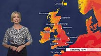 Rising heat and humidity forecast for UK