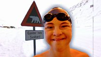 Swimming in the Arctic with Down's syndrome
