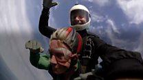 Skydiving gran 'loves the adrenaline'