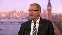 McCluskey tells Labour to 'calm down' over Brexit