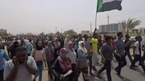 Thousands demand end of Sudan military rule