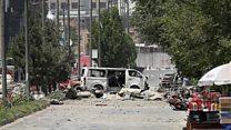 Taliban launch gun and bomb attack in Kabul
