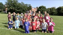 Lionesses inspiring young footballers