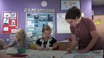 The school teaching pupils in hospital