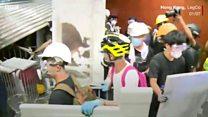 Vì sao người biểu tình chiếm Viện Lập pháp Hong Kong?
