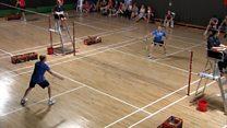 Sgioba Badminton WIIGA ag ullachadh