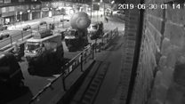 CCTV captures giant red cricket ball being stolen