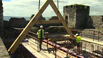 Carrickfergus Castle gets new £1m 'medieval' roof