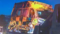 Student paramedic dies in ambulance crash