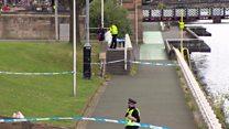 Man fleeing police dies after river jump