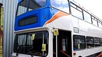 Bus project provides shelter for homeless