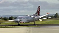 Carlisle airport reopens after 25 years