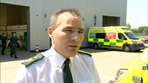 Ambulance staff supported after death of colleague