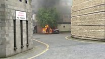 Fire breaks out at electricity sub-station