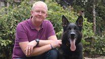 'Hero' police dog saved handler's life