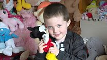 Boy collects almost 1,000 teddies for traumatised children