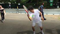 Упознајте Стефана Бојића, првог фристајл тенисера