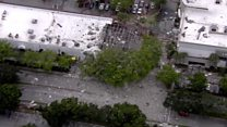 Explosion hits Florida shopping complex