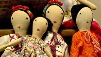 रिफ्यूजी महिलांनी उभारला बाहुल्यांचा संसार