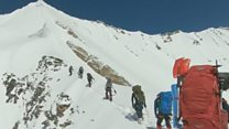 Last footage of climbers who died in Himalayas
