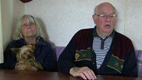 Flood-hit couple thankful for caravan donation