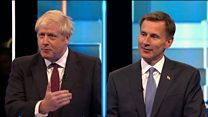 Tory leadership TV debate: Johnson v Hunt on Brexit date
