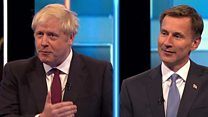 Hunt v Johnson: Brexit, Trump and occasional bad-tempers