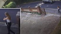 CCTV shows Lucy McHugh