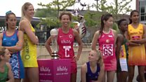 Netball stars head to Liverpool for World Cup