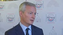 French minister defends tech tax