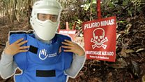 Hunting for landmines