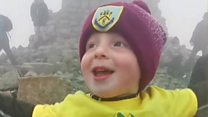 Three-year-old completes Three Peaks Challenge