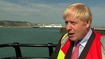 Johnson: Trump's tweets 'could be more diplomatic'