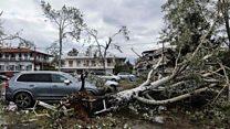 Violent storm hits Greece