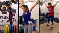 Three sisters become weightlifting champions