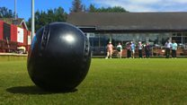 Bangor's visually impaired lawn bowlers