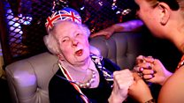 Woman, 89, revisits 'first love' nightclub