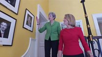 Theresa May speaks to Laura Kuenssberg in final Number 10 interview