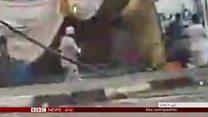 سودان کې پر مظاهره کوونکو د برید شواهد