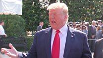 Trump: 'I wish the British ambassador well'