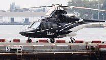 Uber helicopter rides and doorless ladies' loos