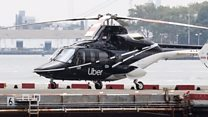Uber helicopter rides and doorless ladies' loos