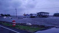 Flooding hits Louisiana as Hurricane Barry nears